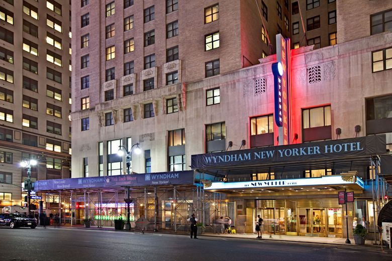 Exterior Of The New Yorker A Wyndham Hotel Hotel In New York New York Ny Hotel Wyndham Hotel