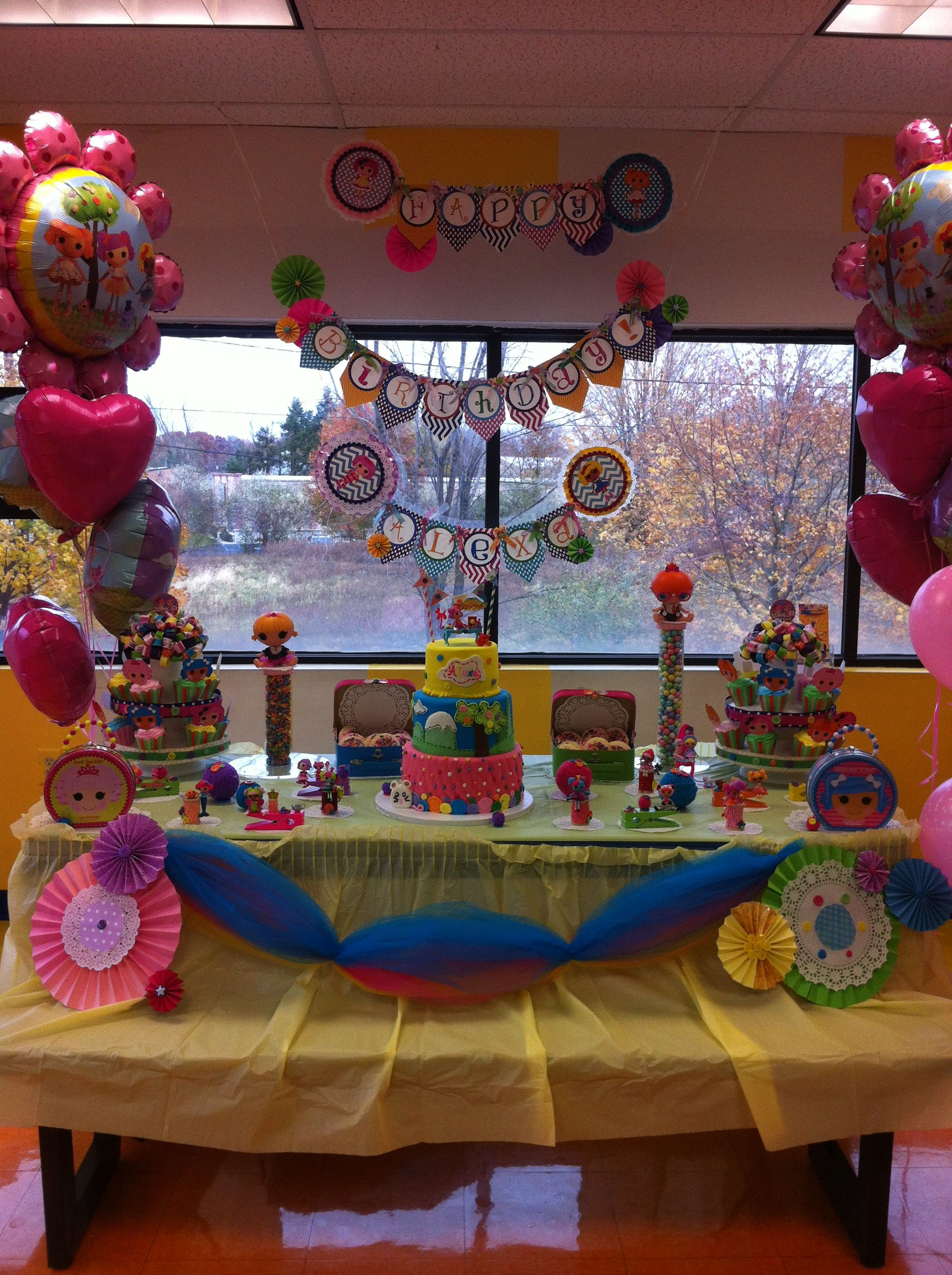 Lalaloopsy Birthday Party Tablescape Party Ideas