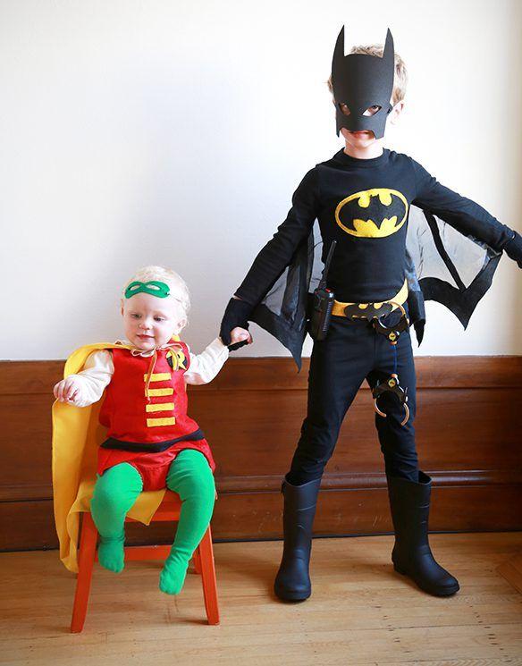 Batman Kostüm Selber Machen Halloween Pinterest Batman
