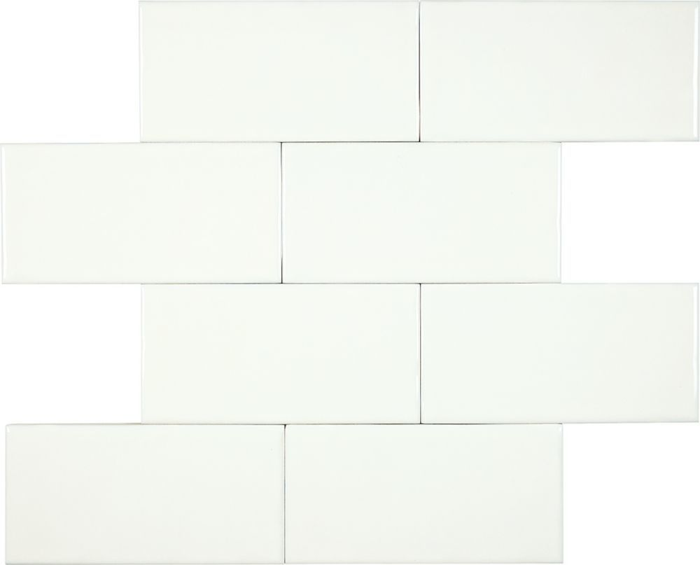 Wolfe Creek Inch X Inch Wall Tile In Bone Sq Ftcase - 3 inch square ceramic tiles