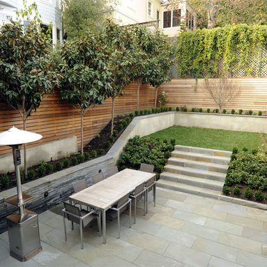 Split Level Garden Design Ideas, Pictures, Remodel and ... on 2 Level Backyard Ideas id=98594