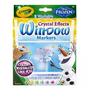 Frozen Window Markers From Crayola Window Markers Frozen Toys Disney Frozen