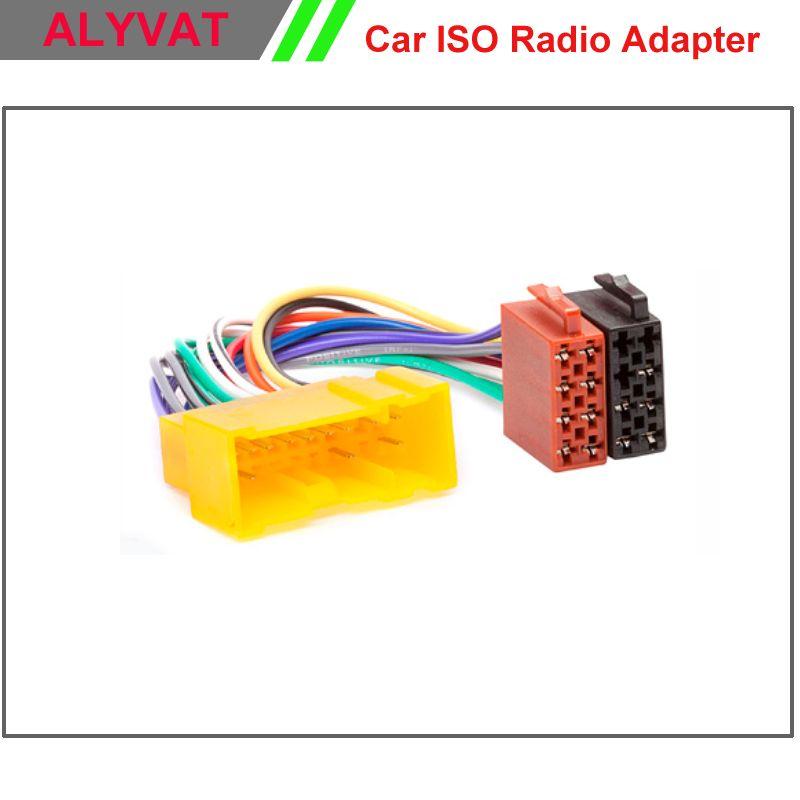 Car Radio ISO Wiring Harness For NISSAN Almera Premiera Micra ...