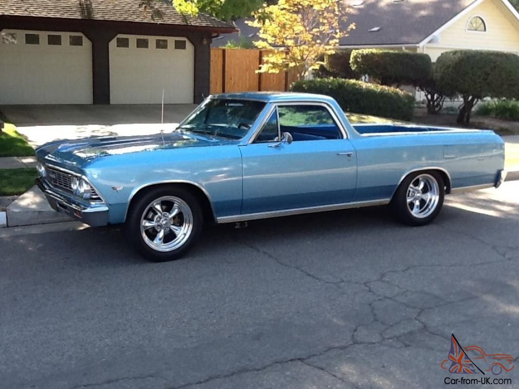 1966 Chevy El Camino Chevy Muscle Cars Classic Cars Trucks Hot