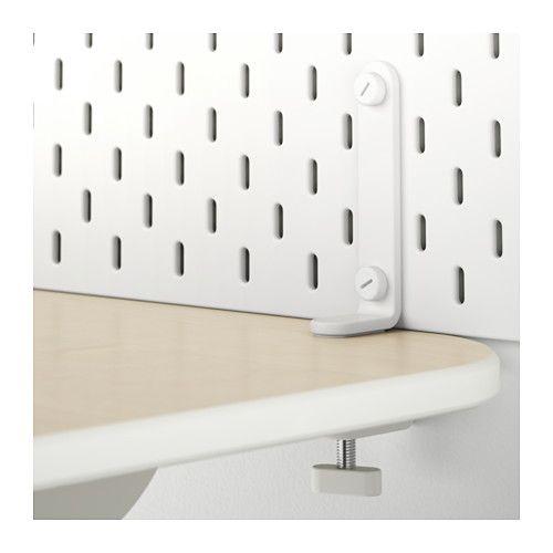 Skadis Connector White Ikea Pegboard