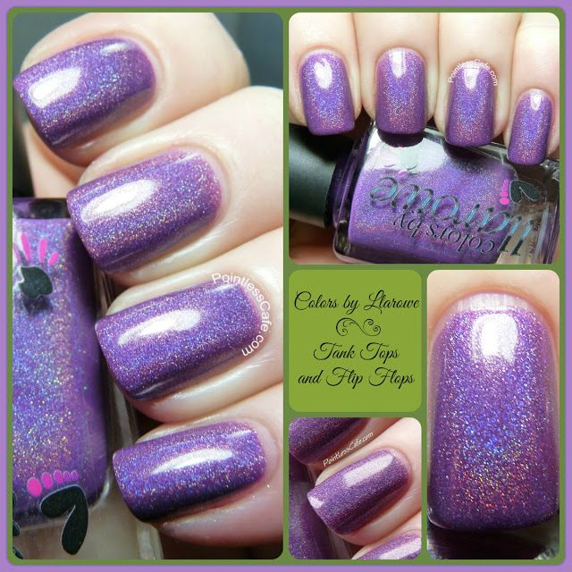 Colors by Llarowe Tank Tops and Flip Flops - Swatches and Review ...