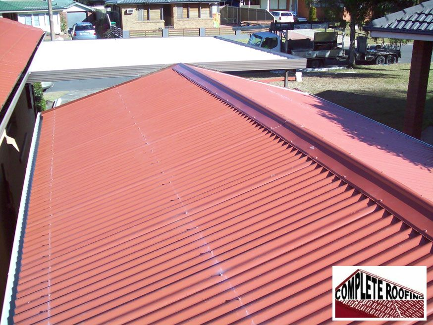 Complete Roofing Is Well Known For Metal Roofing Expert In The Area Of Sydney Which Enhance The Value And Beauty Of Your Metal Roo Roofing Services Metal Roof Outdoor Decor