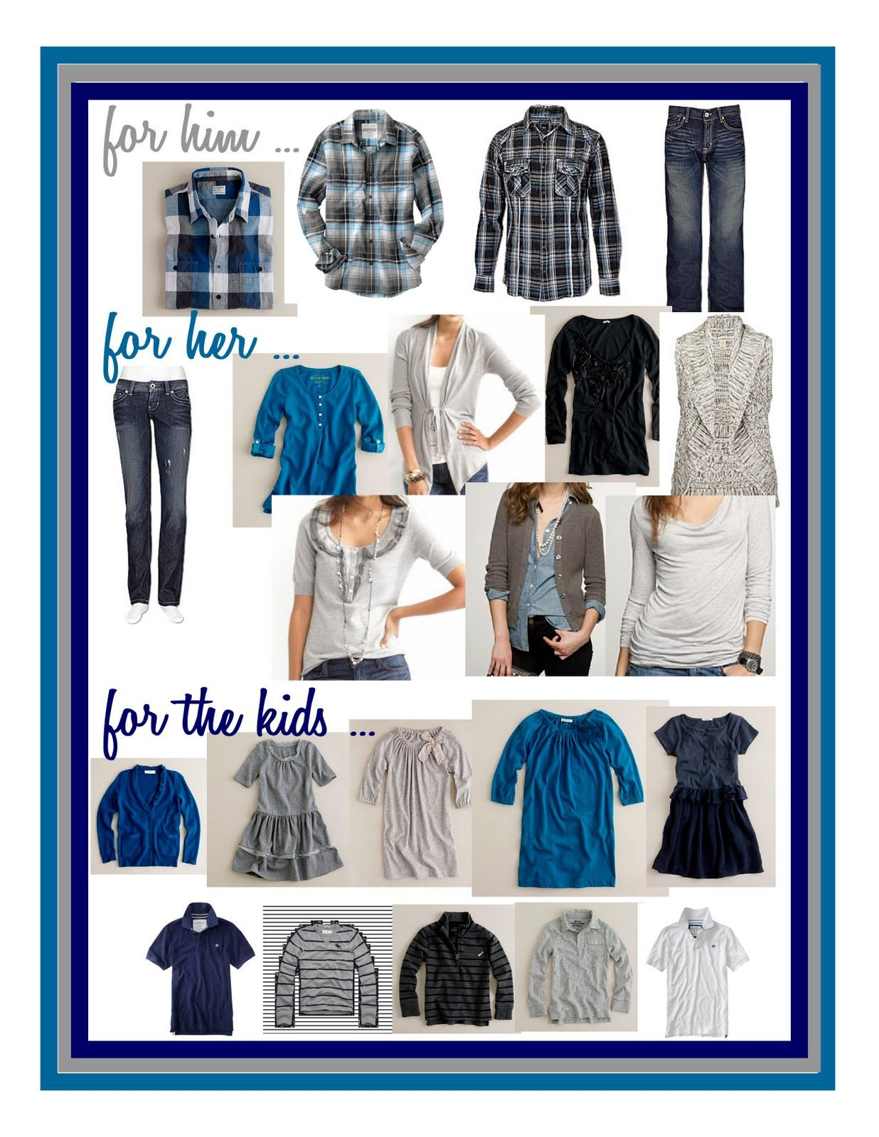 What to wear for a family photo shoot?