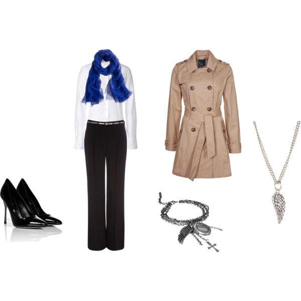Fem. Castiel -  Supernatural inspired clothes