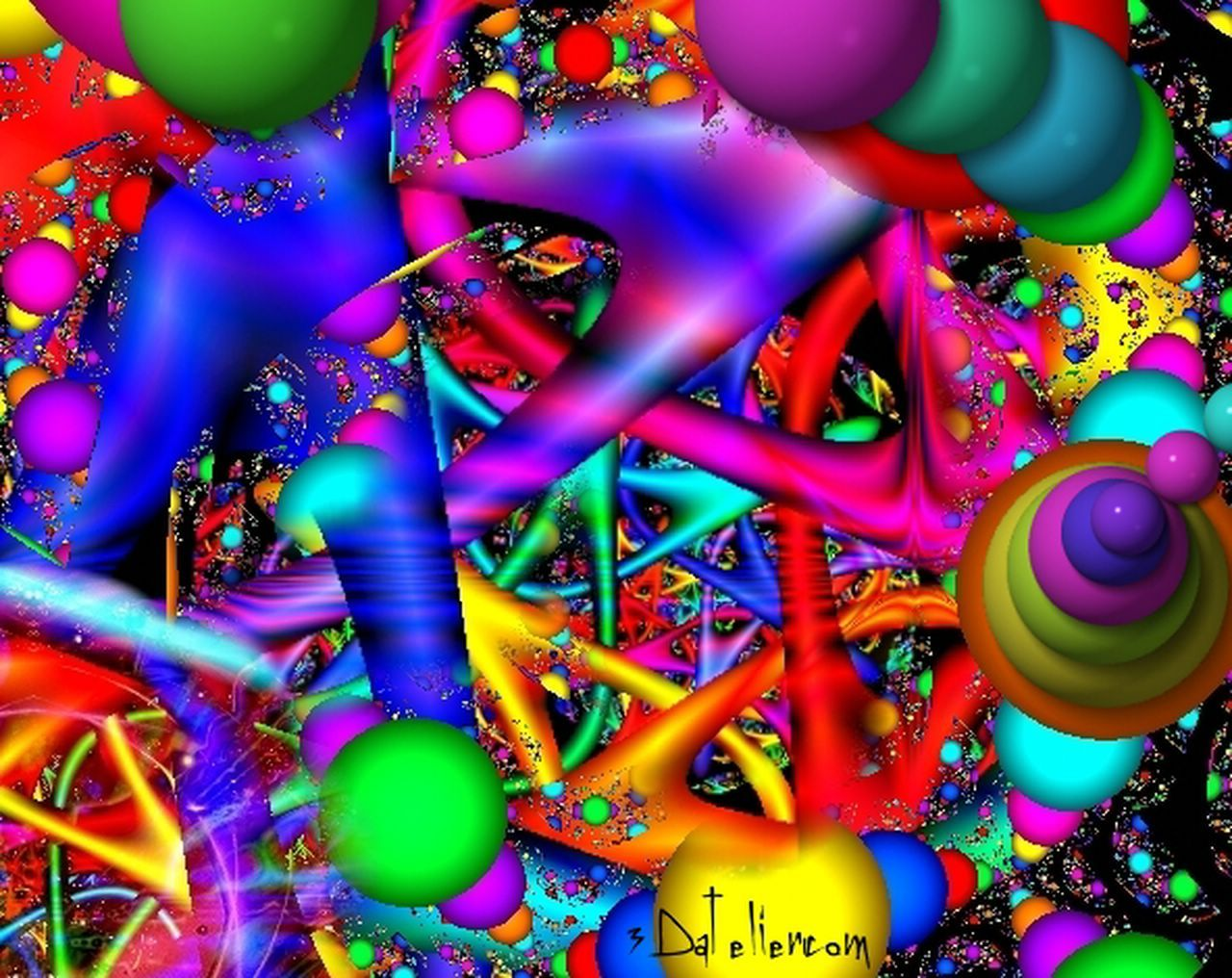 Color art digital - Wild Colors Abstract Image Picture And Wallpaper