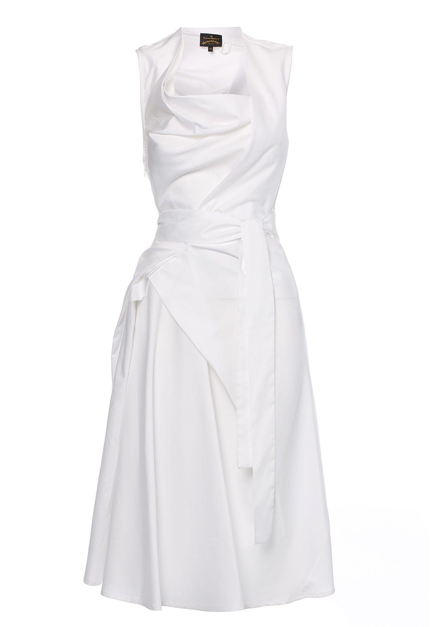 Apron Fish Dress White Fish Dress Vivienne Westwood Dress Dresses [ 2000 x 1384 Pixel ]