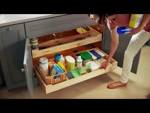 KraftMaid Sink Base Roll-Out Trays   Kraftmaid, Sink ...