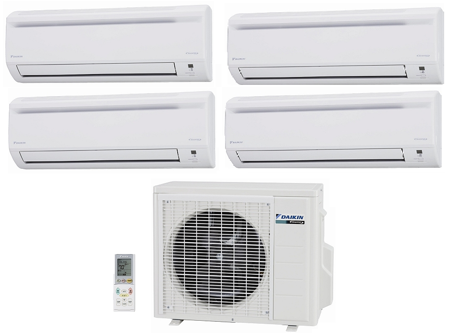 Daikin 4mxs32gvju 32 000 Btu Outdoor Unit 4 Zone Heat And Cool