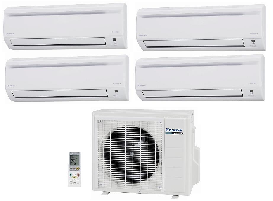 Daikin 4mxs32gvju 32 000 Btu Outdoor Unit 4 Zone Heat And Cool Ductless Mini Spl Air Conditioning Installation Ductless Mini Split Heating And Air Conditioning