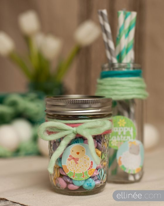 Free printable easter bunny stickers easter ideas pinterest click pic for 40 easter gifts in a jar easter critters homemade gifts in a jar negle Choice Image