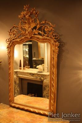 Vergulde spiegel