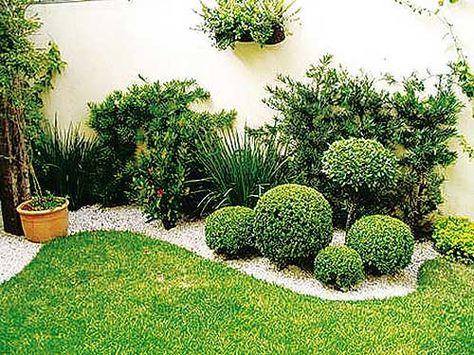 Garden design ideas with pebbles inspiraci n de dise o for Modelos de jardines interiores