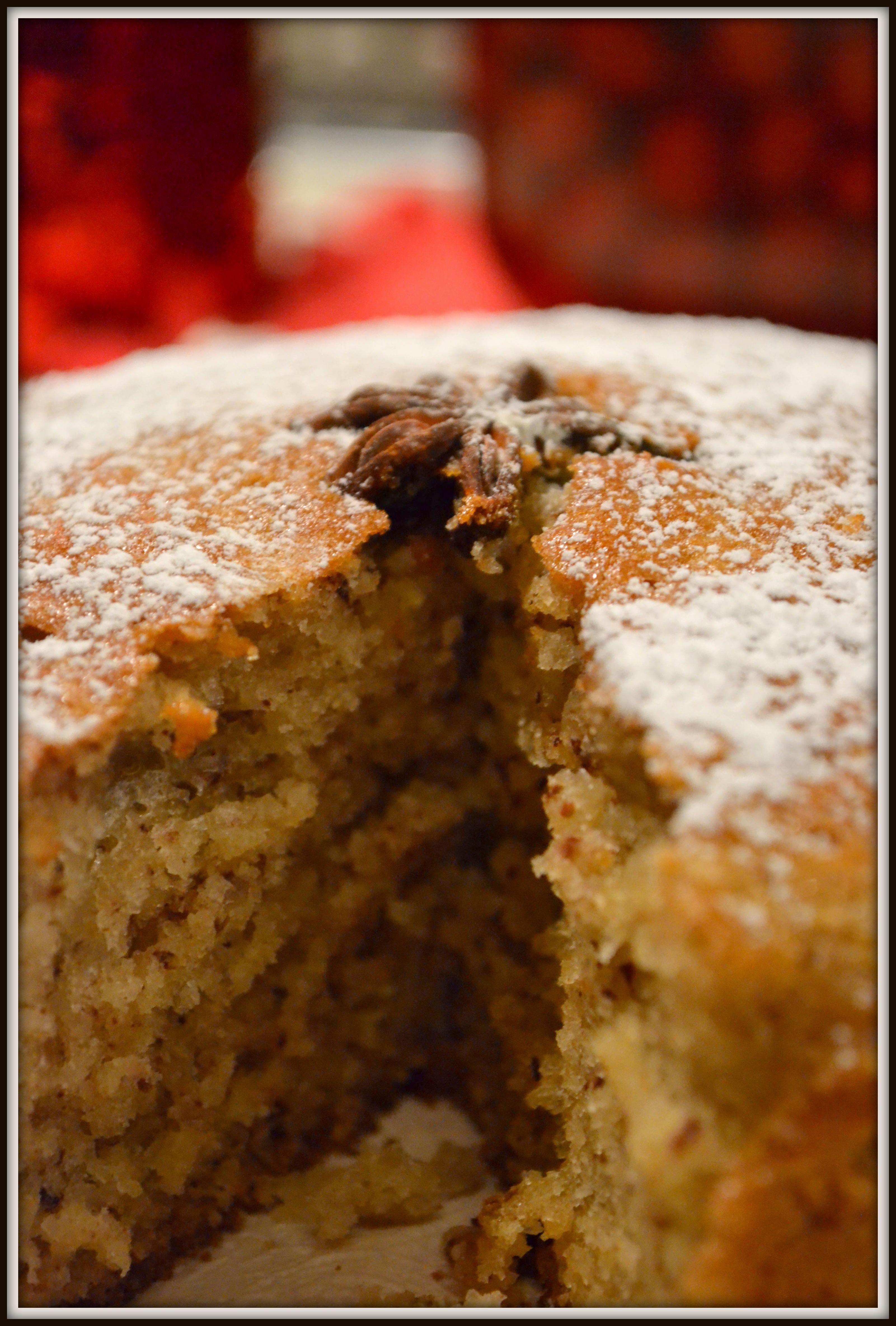 STAR ANISE ALMOND CAKE