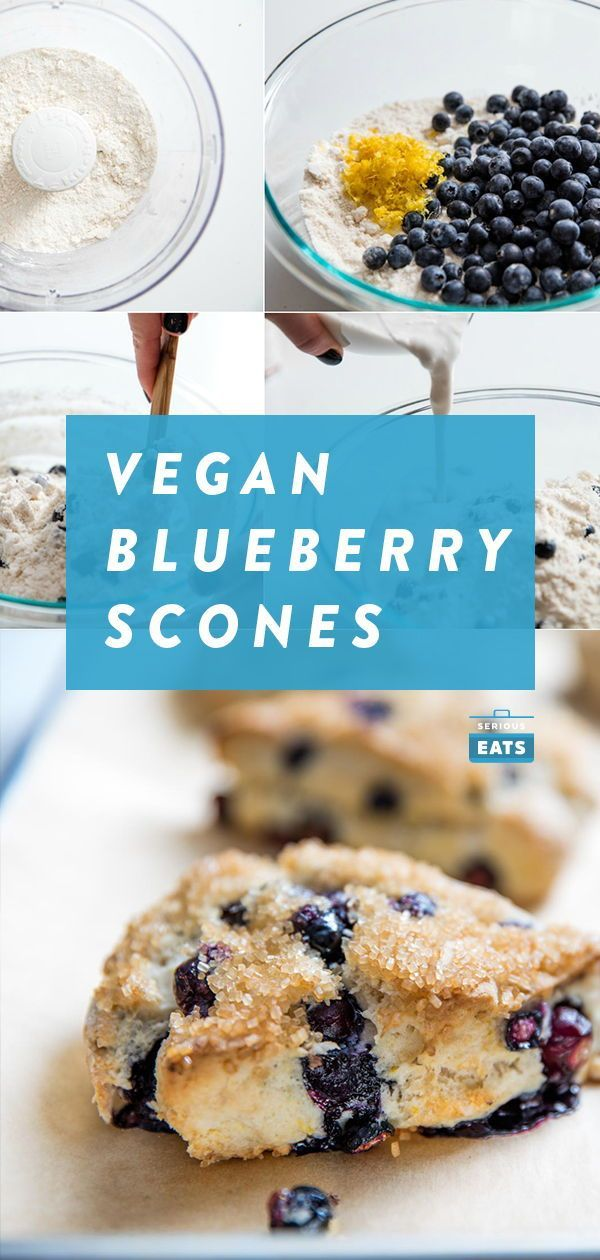Scones Looking for a low-sugar baking project? Giving up sugar or going vegan for Lent and need recipes? Look no further. These vegan lemon-blueberry scones are light and lemony, with bursts of juicy blueberry under a crunchy crust of toasted sugar.Looking for a low-sugar baking project? Giving up sugar or going vegan for Lent an...