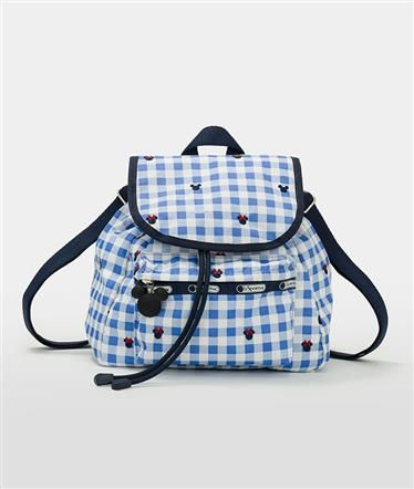 Small Edie Backpack - Checks and Bows - Disney | LeSportsac 2016
