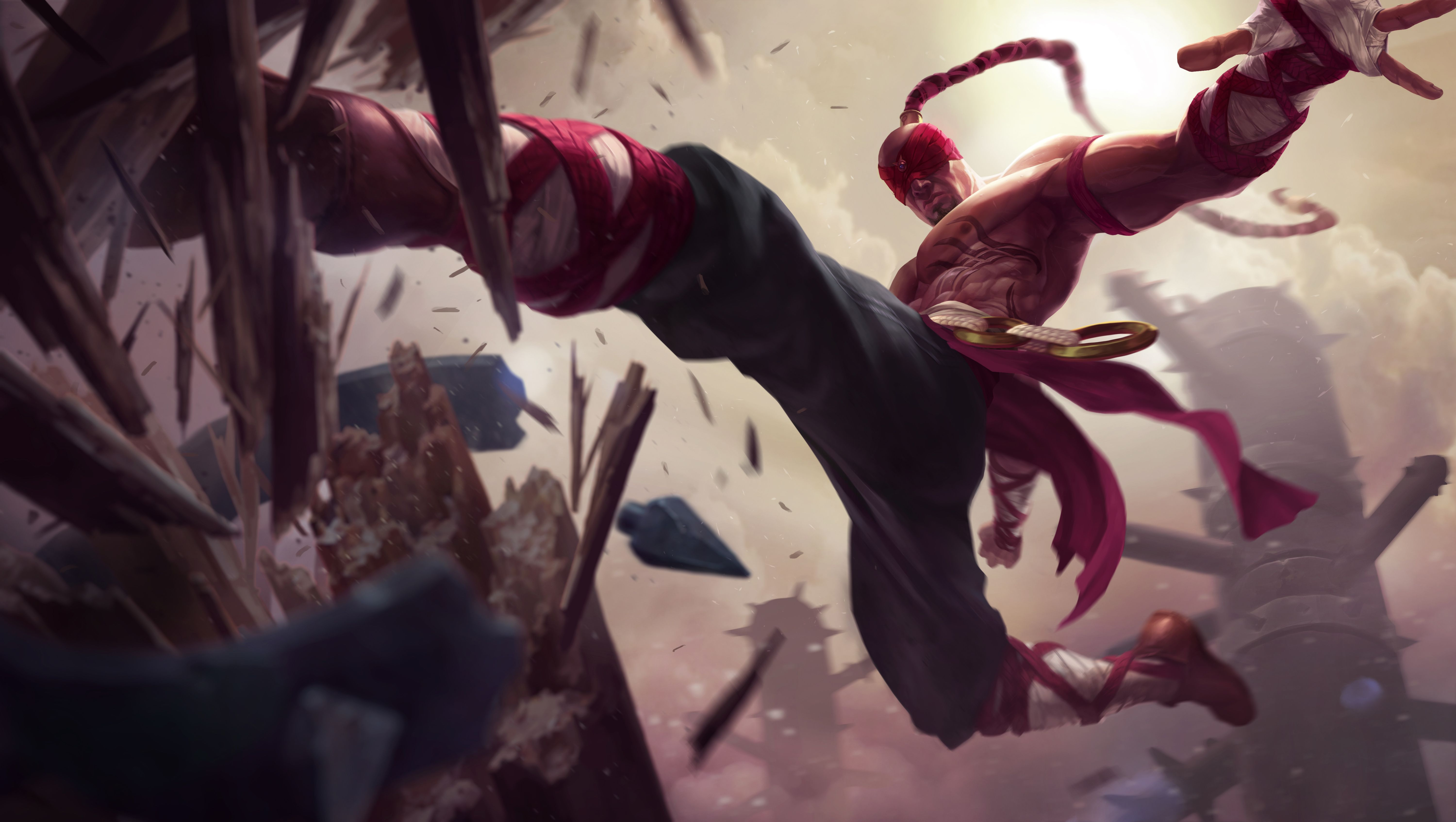 League Of Legends Lee Sin Wallpapers High Definition League Of