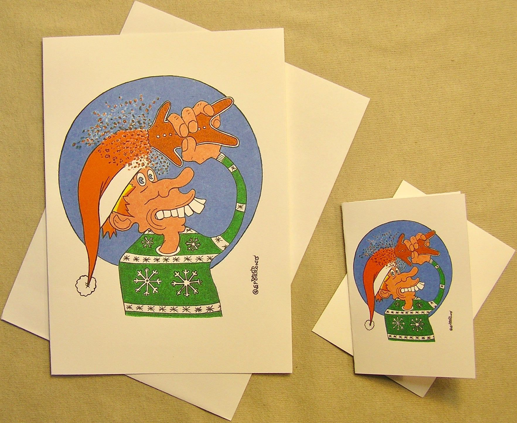 Grateful Dead Holiday Card. Gingerbread Kid. Regular size card and ...