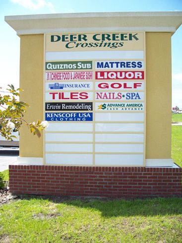 Dixie Signs Shopping Centers And Strip Malls Strip Mall