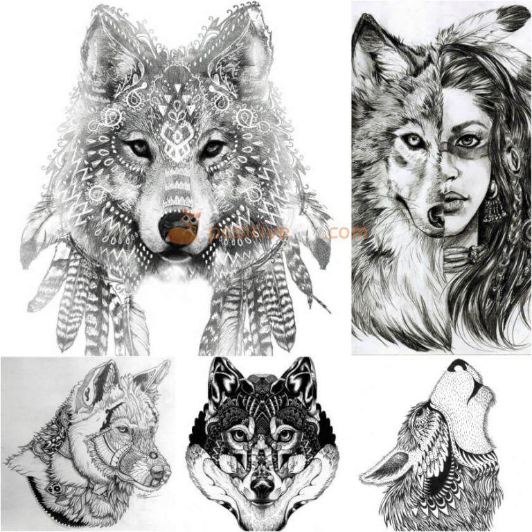 wolf tattoo wolf tattoo designs wolf tattoo sketch. Black Bedroom Furniture Sets. Home Design Ideas