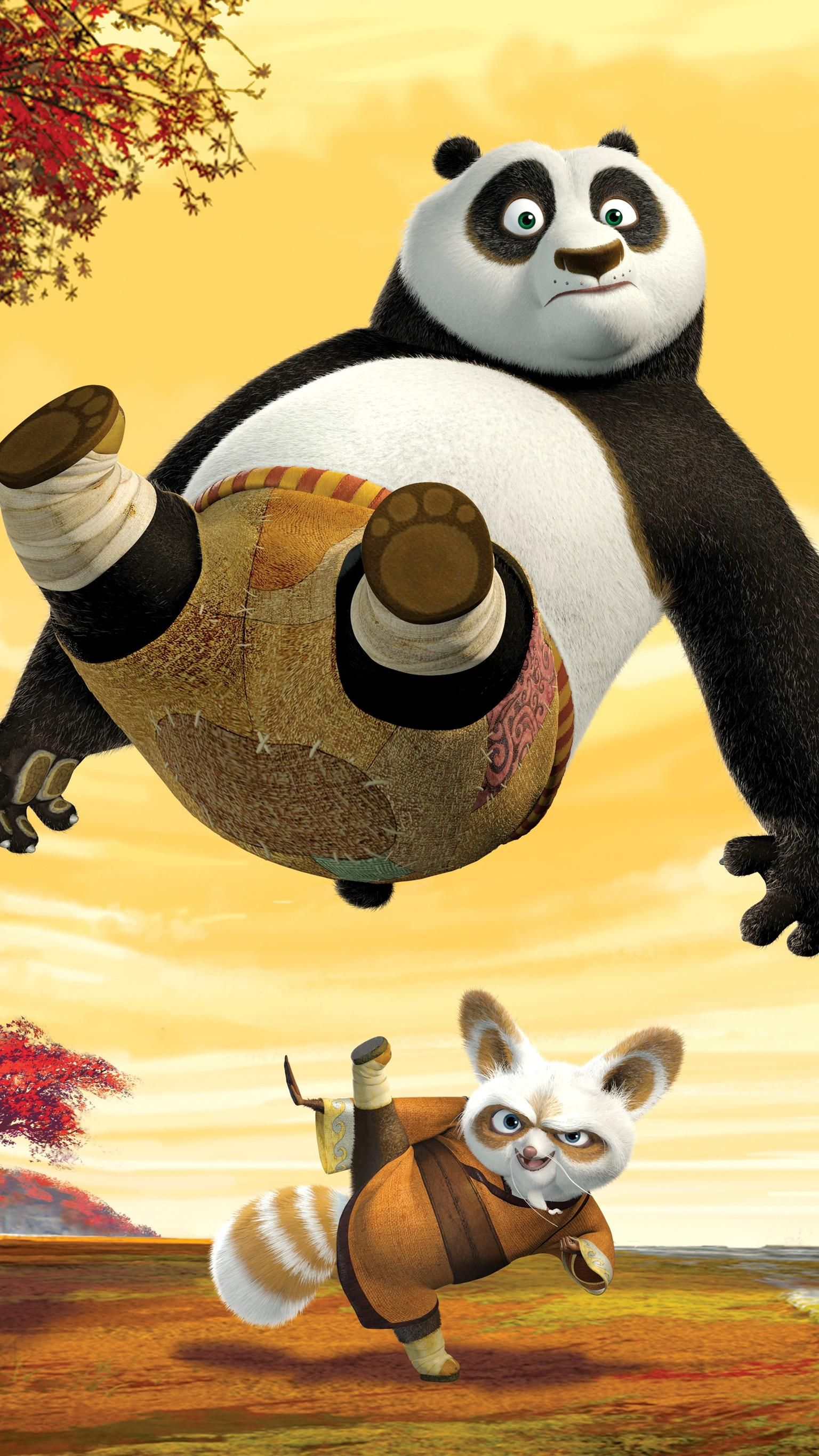 Kung Fu Panda 2008 Phone Wallpaper In 2020 Panda Wallpapers