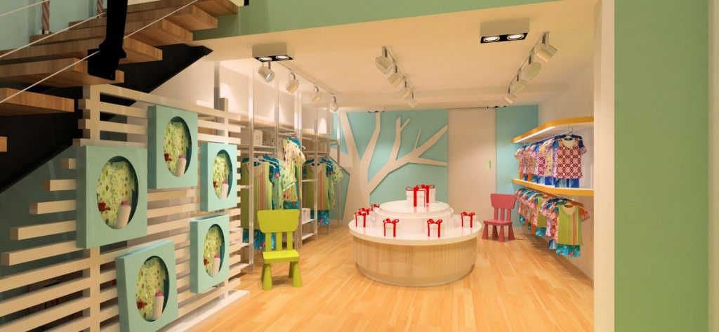 genius baby shop MPLUS Interior Design visual