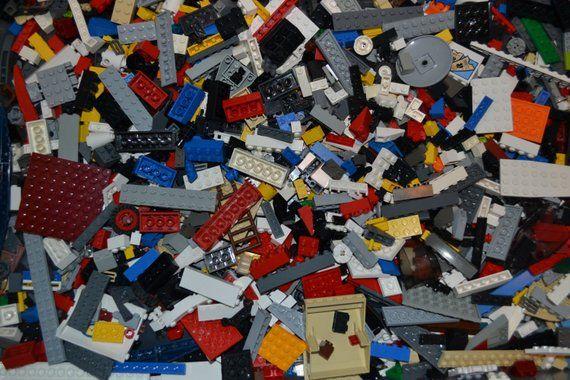 1000 LEGO Pieces CLEAN RANDOM