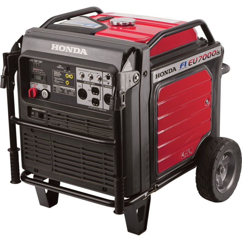 Honda eu7000is 7000 watt portable quiet inverter gas power honda eu7000is 7000 watt portable quiet inverter gas power generator camping rv ad fandeluxe Gallery