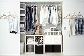 Maak je kledingkast persoonlijk met opbergers en meer kastinrichting
