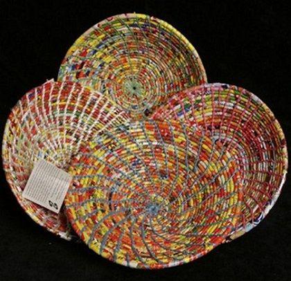 Utensílios Feitos de Plástico Reciclado