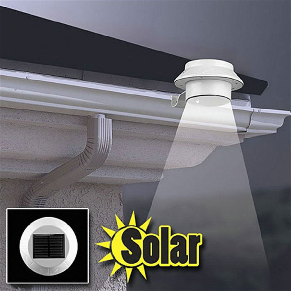 Increase The Visibility And Safety Around Your Home By Installing This Set Of Solar Powered Automa Solar Led Lights Brightest Solar Lights Led Outdoor Lighting