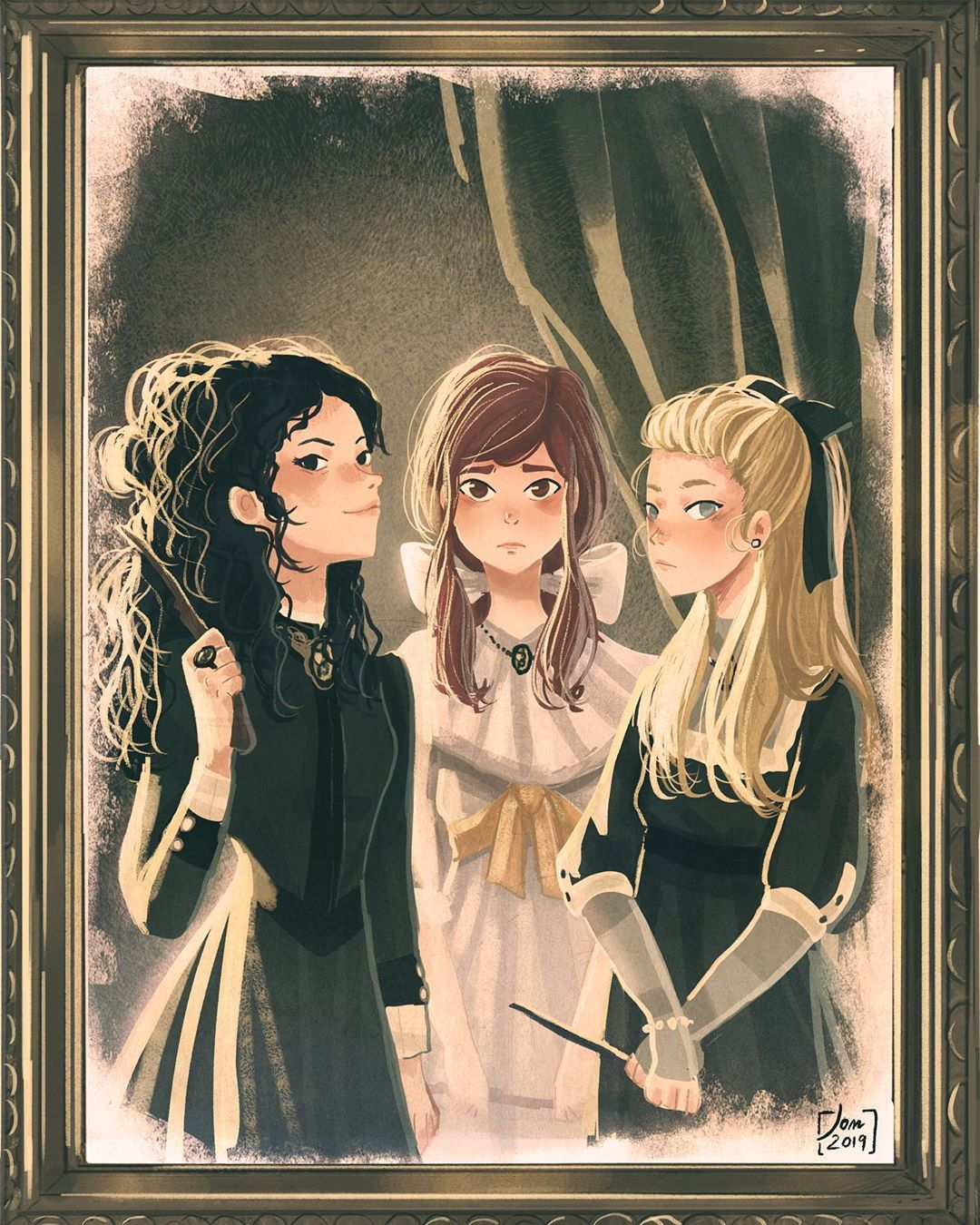 What You Should Wear To Black Sister Hair Com Black Sister Hair Com Anime De Harry Potter Arte De Harry Potter Personajes De Harry Potter
