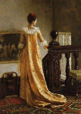 Edmund Blair Leighton, The golden train, 1891  http://www.artsalonholland.nl/kunst-encyclopedie