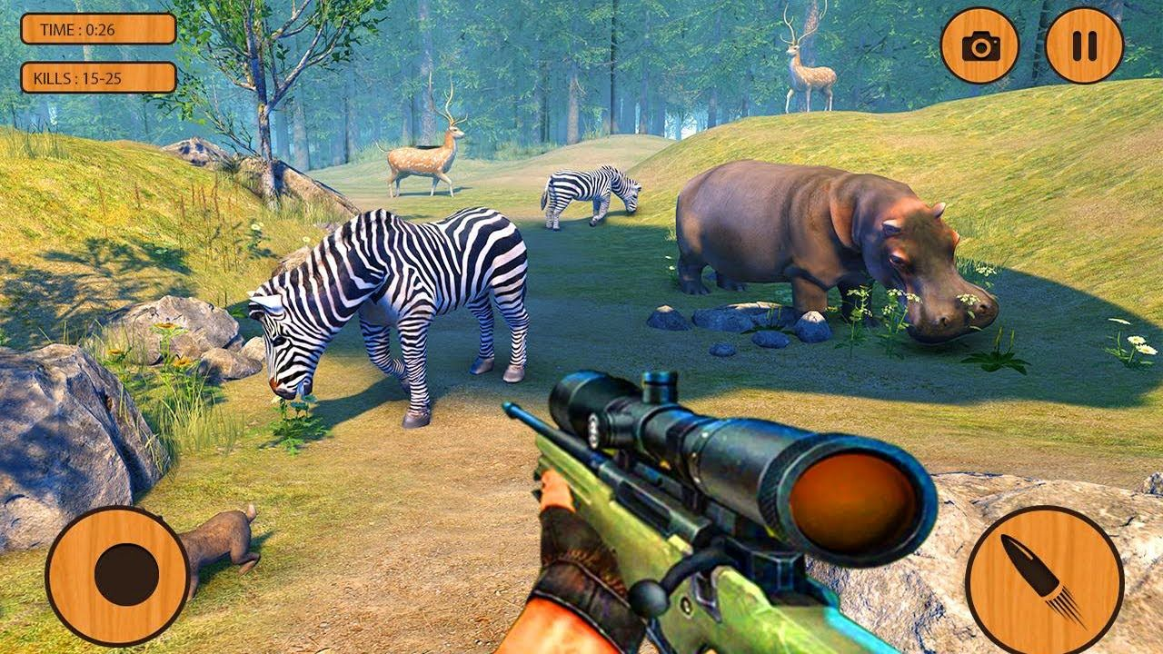 Extreme Wild Animals HunterBest Shooting Game Android