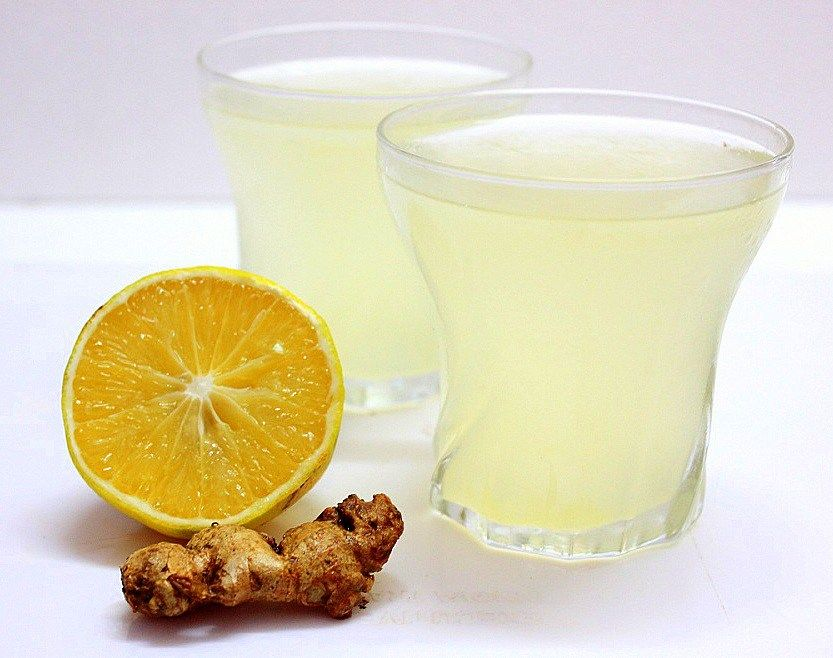 Zencefilli sodalı limonata
