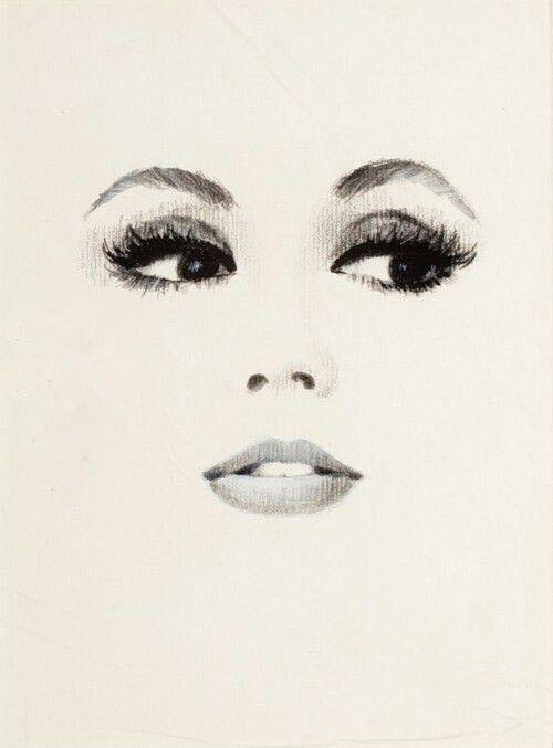 Pin By Camille Berg On Art Gesicht Zeichnungen