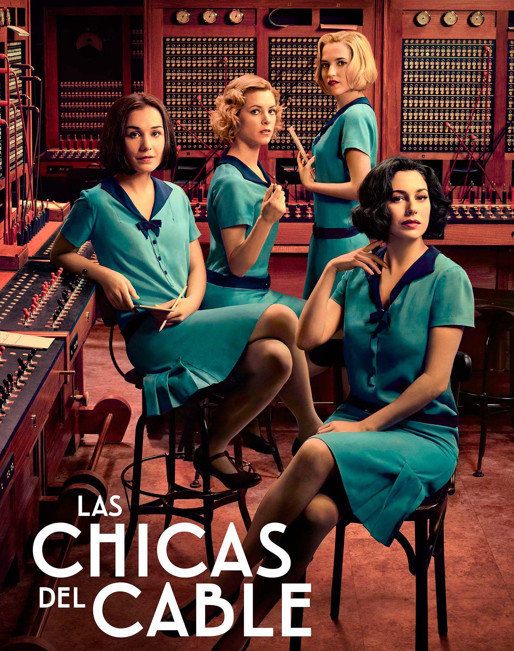 Las Chicas Del Cable Nueva Serie Española Las Chicas Del Cable Disfraces De Series Series Español