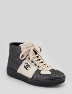 CHANEL Leather High Top