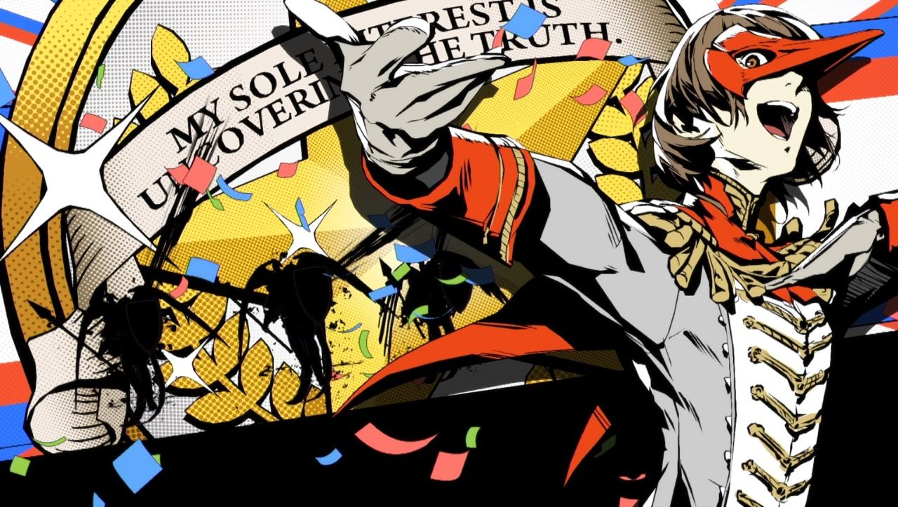 Akechi Finishing Touch He Looks Like S Trying To Dab Fabulously