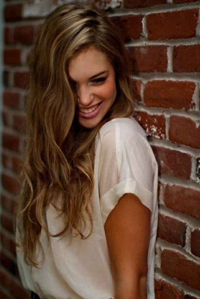 Balayage blond ou caramel pour vos cheveux châtains | Coiffures ...