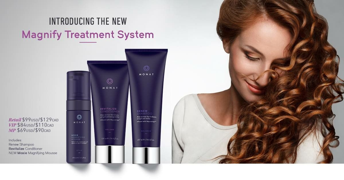 New Magnifying System Monat Monat Hair Hair Curly