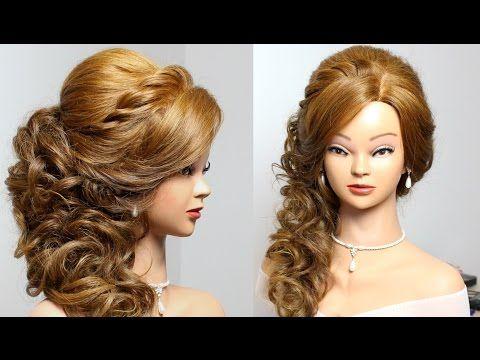 18b30fcb85cb Wedding hairstyle for long medium hair tutorial - YouTube