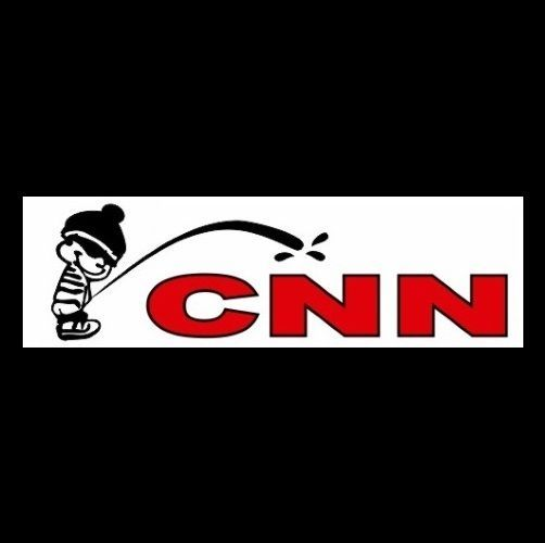 CNN FAKE NEWS BUMPER STICKER DECAL TRUMP 2020
