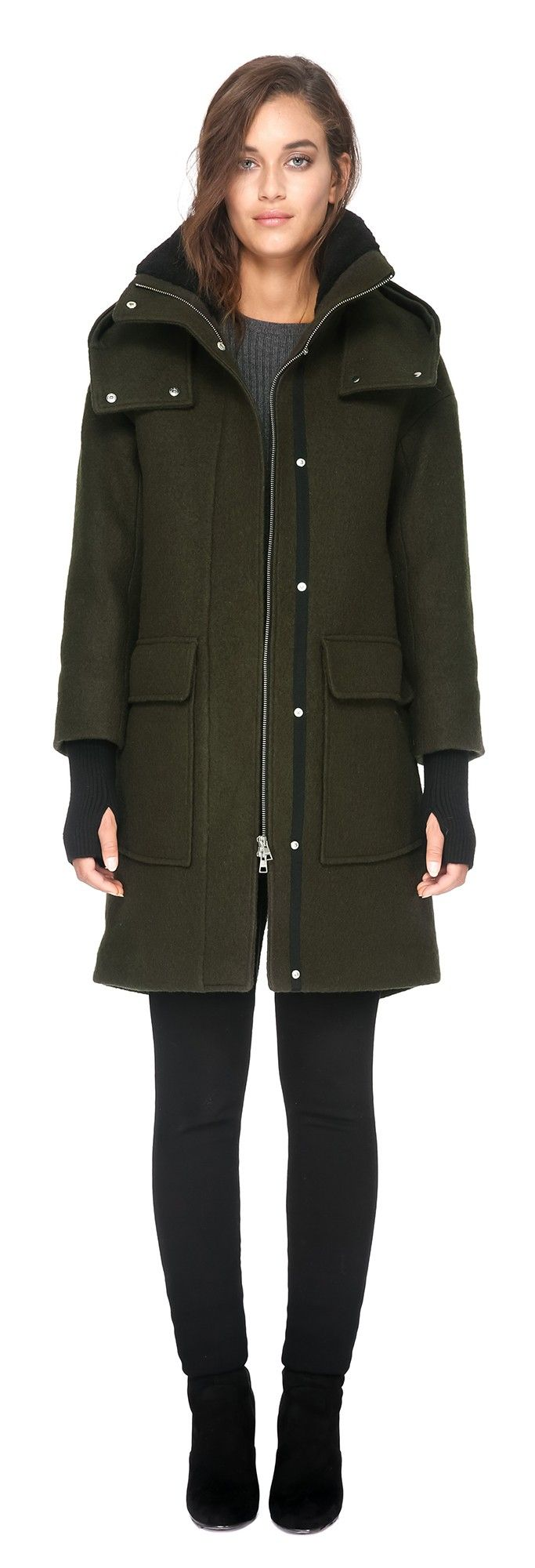 KARINE-C-ARMY | Clothes I Covet | Pinterest | Wool coats, Boiled ...