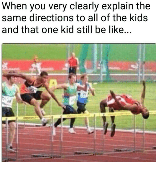 Image Result For That One Kid Hurdles Meme Funny Sports Pictures Humor Laugh
