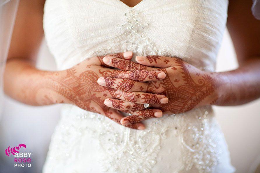 Indian Flare With Western Dress Wedding Wedding Bridal Mehndi